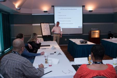 David Kay's Knowledge Centered Support Workshop kicks off